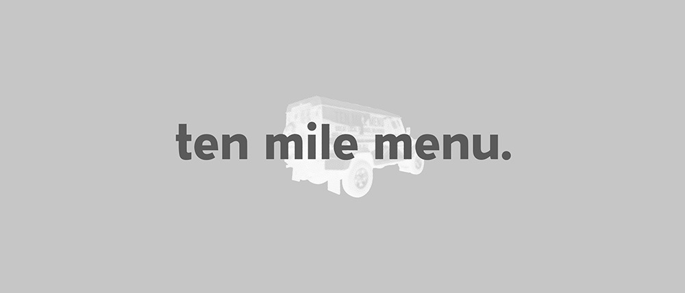Ten Mile Menu - Logo